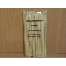 Палочки для гриля 100шт. 15см дерево в пакете