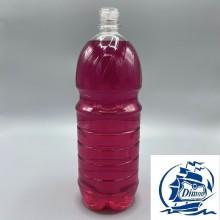 Бутылка 2,0 л прозрачная с крышкой d28мм ПЭТ одноразовая