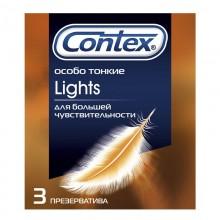 Презервативы Contex 3шт. Ligts особо тонкие