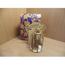 Магнит-оберег Павлин дерево в коробке Вера Деревянная