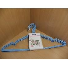 Плечики для верхней одежды металл c пластмассовым покрытием цветные арт.MHL50610 АТМ