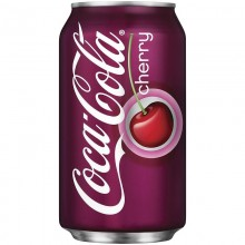 Напиток Coca-Cola cherry 0,33л в банке металл /12