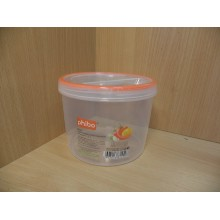 Банка д/продуктов 1,2л Винтаж с завинчивающей крышкой пластик без упаковки арт.С11487
