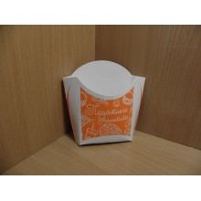 Коробка д/картофеля фри малая 100г 47х82х106мм . Артпласт (500)