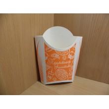 Коробка для картофеля фри большая 150г 35х95х136мм
