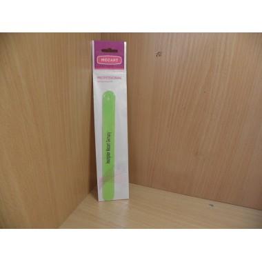 Пилка для ногтей Mozart 180мм полимер без ручки на блистере арт.355