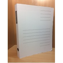 Папка скоросшиватель А4 OfficeSpace микрогофра- картон ширина 30мм арт.158545