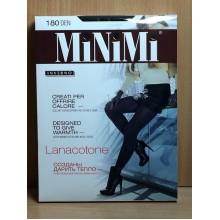 Колготки Minimi Lanacotone 180d 3(M)разм. nero