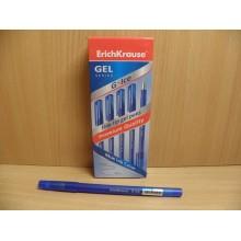 Ручка гелевая Erich Krause G-Ice синяя стержень d 0,4мм арт.39003