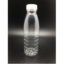 Бутылка 0,5 л прозрачная с крышкой d38мм ПЭТ одноразовая . (100)