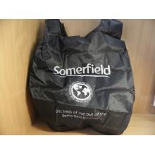 Мешок д/обуви 50х45см складная черный ткань искуственная Somerfield