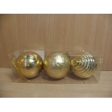 Шар пластик d 70мм золотой без упаковки (3) арт.AR3/18L7001A/G