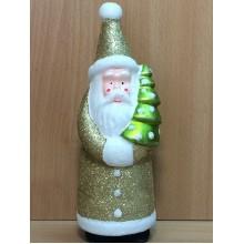 Дед Мороз . h 22см . пластик в прозрачной коробке арт.TS2915P-01A/01