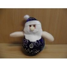 Сувенир-подвеска мягкий Дед Мороз высота 10см арт.NC15-538