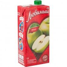 Сок Любимый Яблоко 0,95л в коробке /12