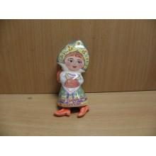 Колокольчик Серпухов Елена в сапожках h 10см керамика в пакете .
