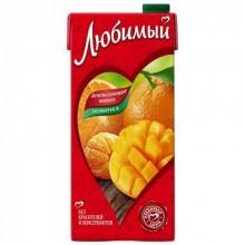 Сок Любимый Апельсиновое манго 0,95л в коробке /12