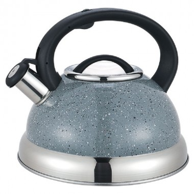 Чайник 3,0л Maestro нержавейка со свистком в коробке арт.MR-1313С