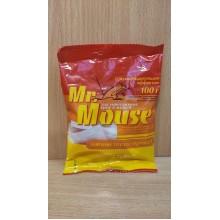 Средство от грызунов Mr. Mouse тесто- брикет 100г пакет Простое решение