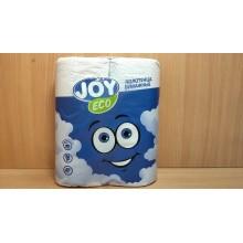 Полотенца бумажные JOYeco 2шт. 2-слойные белые (12)
