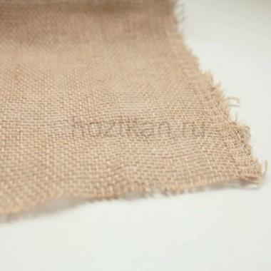 Ткань мешковина джут цвет натуральный 1,1х1м (50м) плотность 270г/м2 арт.14133