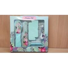 Маникюрный набор 5пр. Фламинго NataM (педикюр) в коробке картон арт.DMSZ-5195 АТМ