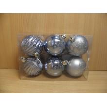 Шар пластик d 60мм голубой без упаковки (6) арт.AR3/119LA6002