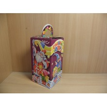 Коробка новогодняя д/подарка 700г Веселый дедушка/Карнавал картон арт.ПДУ42319 (175)