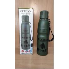 Термобутылка 0,5л корпус металл колба нержавейка . Zeidan в коробке арт.Z-9075