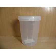 Банка д/продуктов 0,5л Твист с завинчивающей крышкой пластик без упаковки арт.С11389