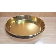 Поднос Шарлот d260мм золотой пластик одноразовый 36171(120)