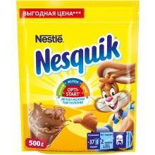 Какао-порошок . Nesquik Opti-Start 500г в пакете .