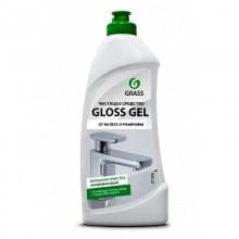Средство для ванной комнаты Grass Gloss-Gel Анти-налёт (арт.221500) гель 500 мл бутылка пластик