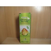 Биосостав для дачного туалета Дачный Актив жидкий 500 мл +2пакетиках50г