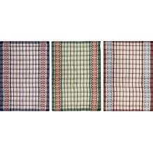 Полотенце кухонное хлопок 40х62см Клетка без упаковки АТМ