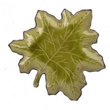 Блюдо керамика Амазония 290х274мм листок без упаковки арт.2160012