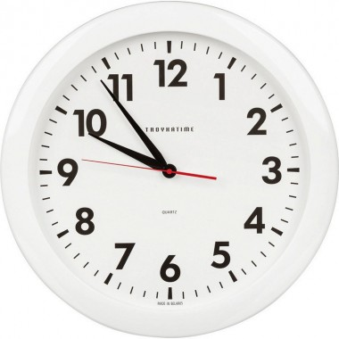 Часы настенные кварц Тройка круглые арт.51510511 Часпром