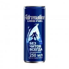 Напиток Adrenaline game fuel 0,25л в банке металл /12