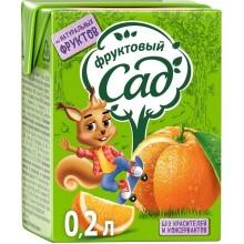 Сок Фруктовый сад в ассортименте 0.2л в коробке /27