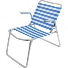 Кресло-шезлонг складное дачное Nika металл+ткань арт.К1 код74583 Висс