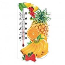 Термометр комнатный картон магнит Фрукты на блистере ЮВ
