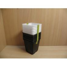 Горшок для рассады пластик Радиан 0,25л h7,5см 12шт. код 77115 арт.А5520 Висс
