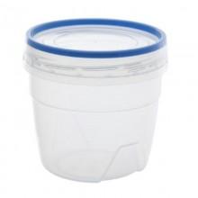 Банка для продуктов 0,5л Премиум с завинчивающейся крышкой пластик без упаковки арт.43201 Союзпластик
