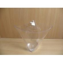 Фуршетная форма чашка Кимоно 0,5л прозрачная ПС одноразовая арт.1053