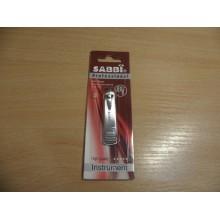 Книпсер для ногтей Sabbi mini ручка металл на блистере арт.658