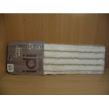 Блок сменный для плоской швабры Base микрофибра полоса 40х10см арт.2312021