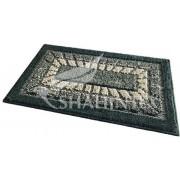 Коврик для ванной комнаты 45х75см прямоугольный полипропилен Shahintex Mosaic 52 зелёный арт.701003