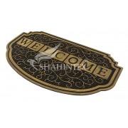 Коврик резиновый 45х75см Shahintex SH40 с покрытием золото арт.459182