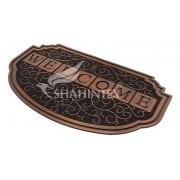 Коврик резиновый 45х75см Shahintex SH40 с покрытием медь арт.459229